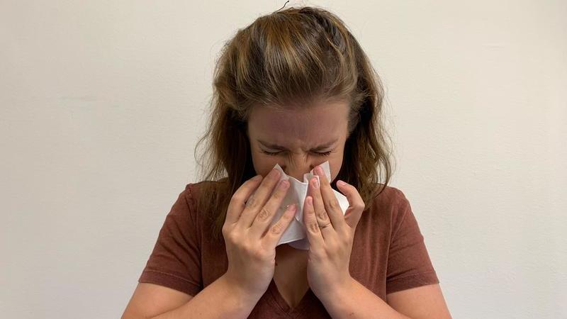 Lembranças de uma adolescente com alergias