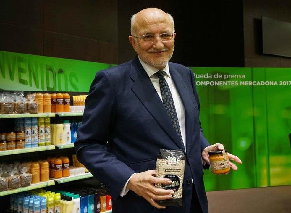"""""""Crescimento da Mercadona virá de Portugal"""", assume presidente do grupo"""