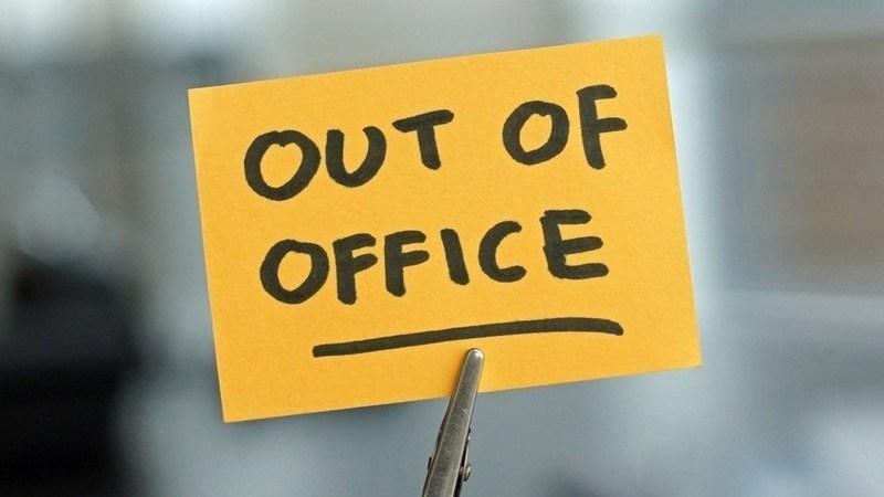 """Dicas para a escrita de mensagens """"Out of the Office"""""""