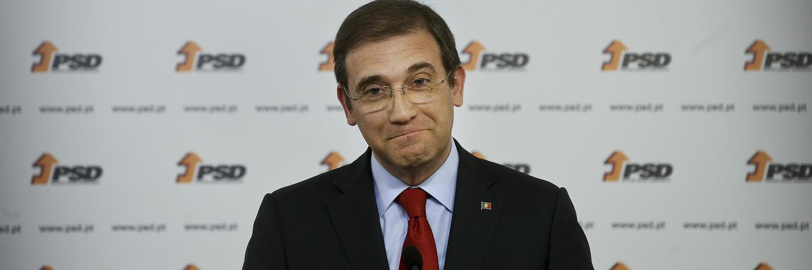 """Passos Coelho: Este não é o défice """"mais baixo"""" da história da democracia"""