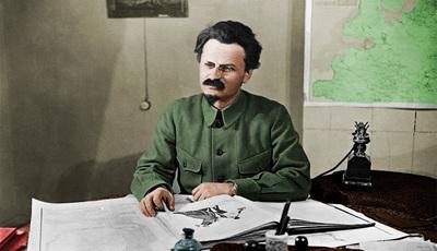 Leon Trotski, o herói de uma nova série de televisão russa
