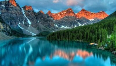 Natureza: A combinação de cores torna estas paisagens ainda mais únicas