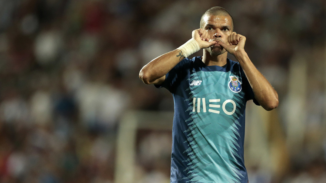 "Pepe: ""É este tipo de jogos que vamos ter no campeonato"""