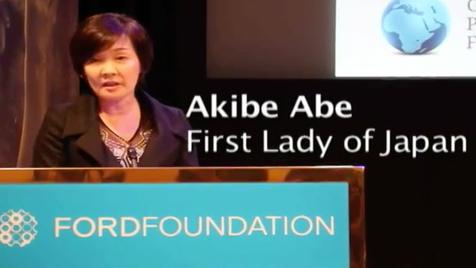 Primeira-dama do Japão fingiu não saber inglês para evitar conversa com Trump?