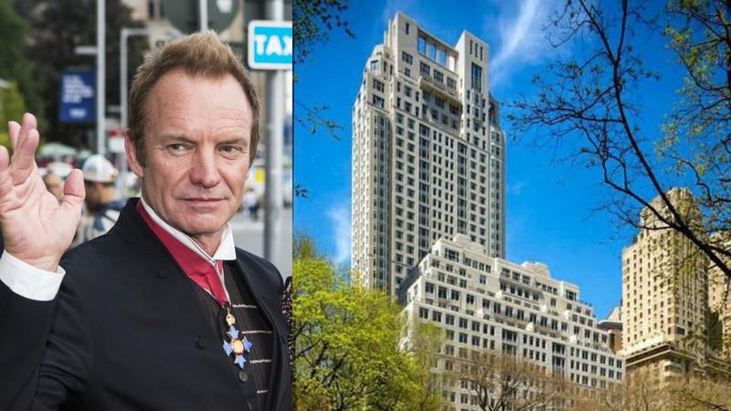 Sting vende apartamento de luxo em Nova Iorque