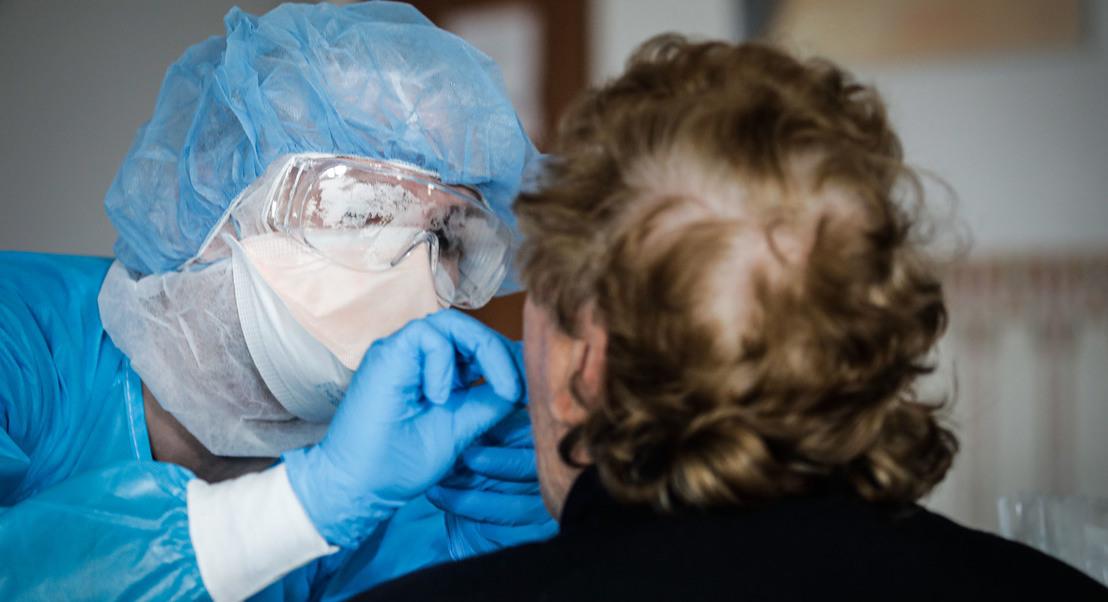 COVID-19: Arranca hoje operação de testes de despiste nos lares de idosos do país