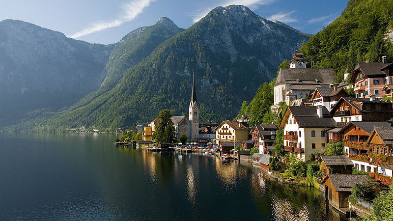 Vai perder-se de amores por Hallstatt, na Áustria