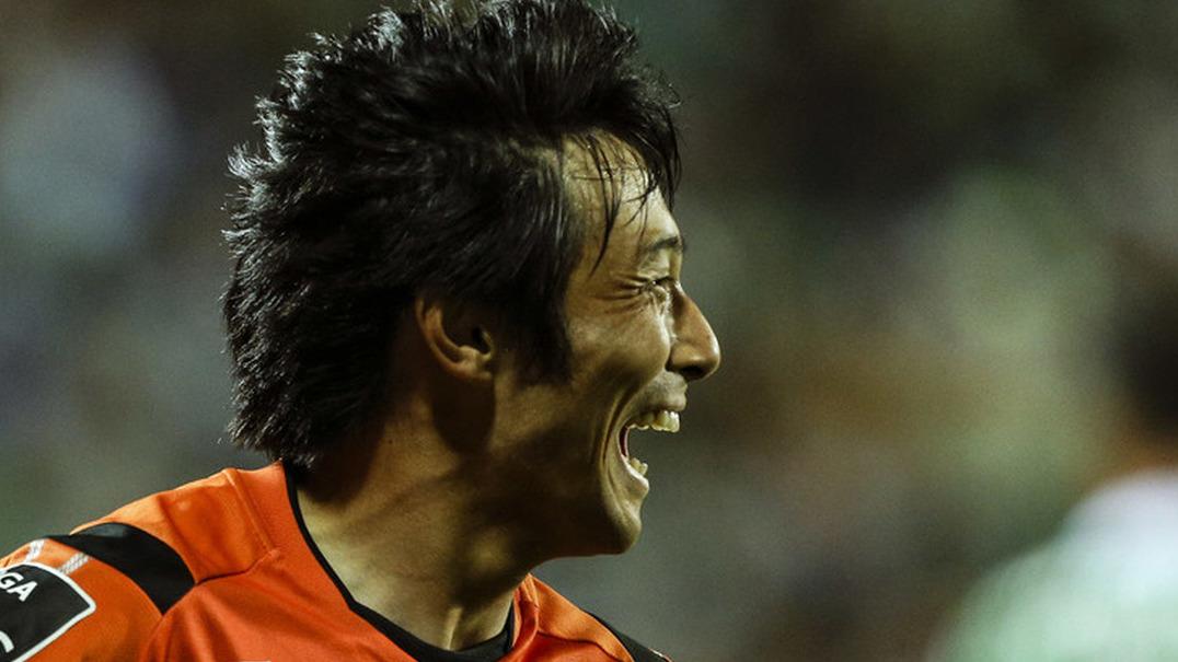 Lembra-se de Shoya Nakajima? Marcou um golaço pelo Japão