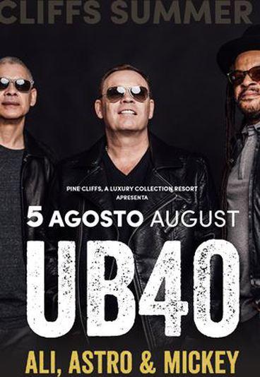 Ganhe bilhetes duplos para o concerto dos UB40 no Algarve