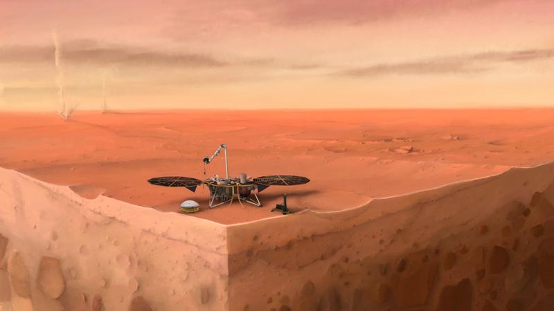 """Sonda InSight revela que os """"martemotos"""" são mais frequentes do que os cientistas da NASA pensavam"""