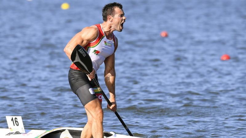 Minsk2019: Fernando Pimenta conquista medalha de prata nos K1 1000 metros