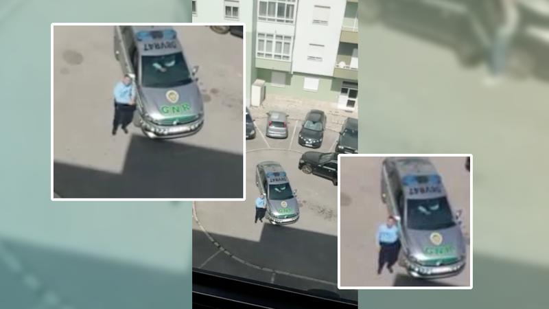 """Depois de Andorra, Portugal: agente da GNR dança """"Baby Shark"""" para a filha em casa"""