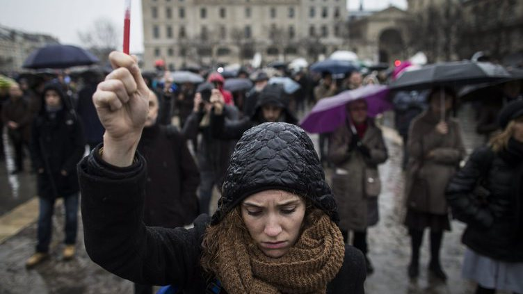 Vigils and minute of silence for Charlie Hebdo attack