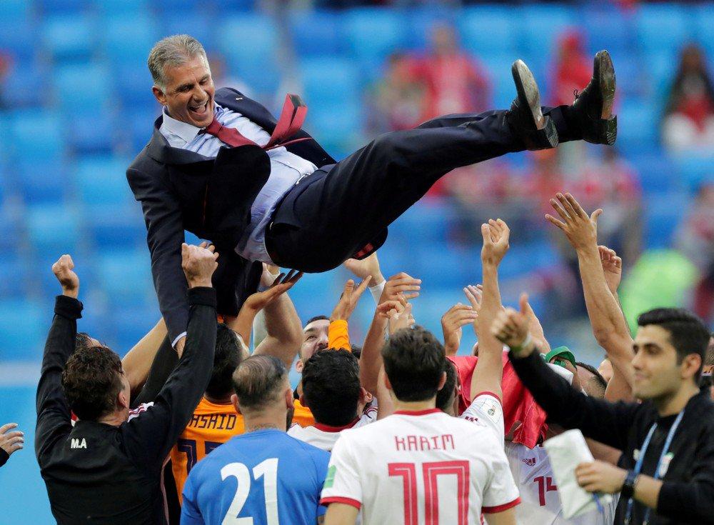 """Mundial2018:  Queiróz pede  """"sacrifício e trabalho"""" para bater os """"super-homens"""" de Espanha"""