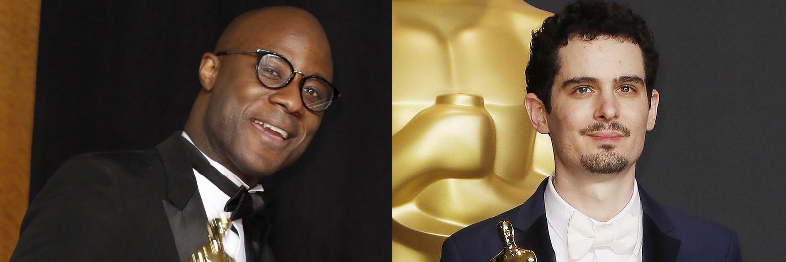"""""""Moonlight"""" e """"La La Land"""": Realizadores juntos em entrevista depois da bronca nos Óscares"""