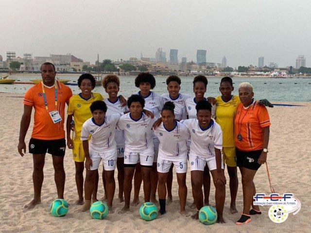 Mundial Futebol de Praia: Seleção feminina de Cabo Verde perde com Espanha