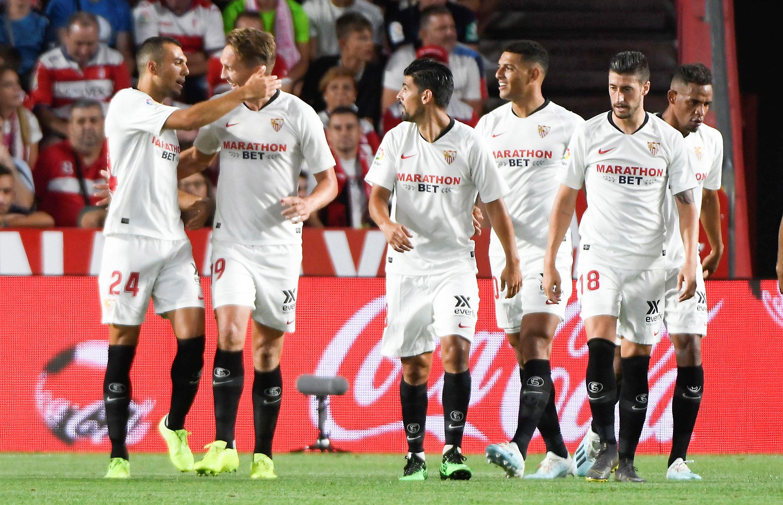 Sevilha no topo da liga espanhola com duas vitórias em dois jogos