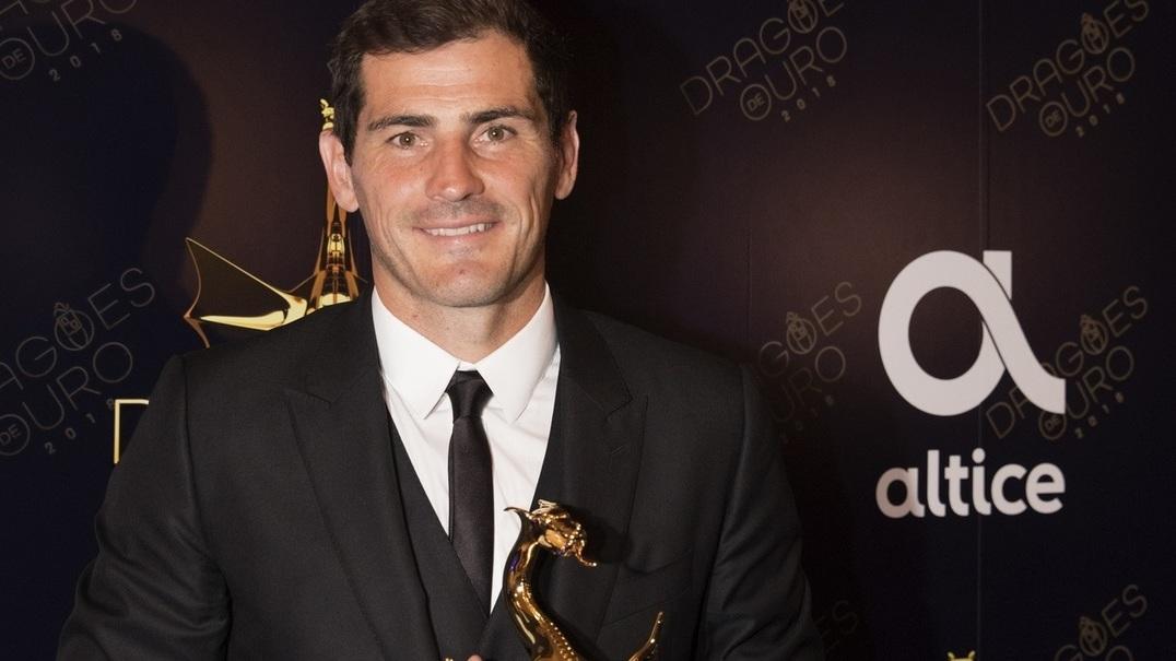 """Iker Casillas: """"Quero ficar aqui até acabar a minha carreira"""""""