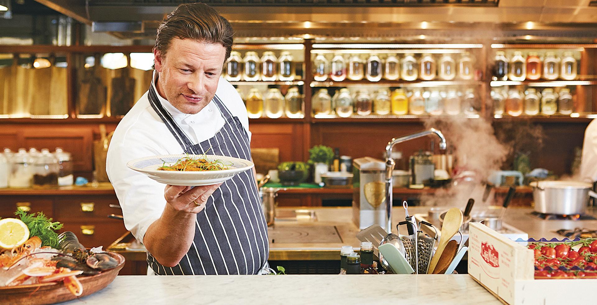 Jamie Oliver e o terrível, horrível, nada bom, péssimo dia