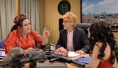 """Eurovisão: em """"Donos Disto Tudo"""", Filomena Cautela já está em Israel para apresentar o festival"""