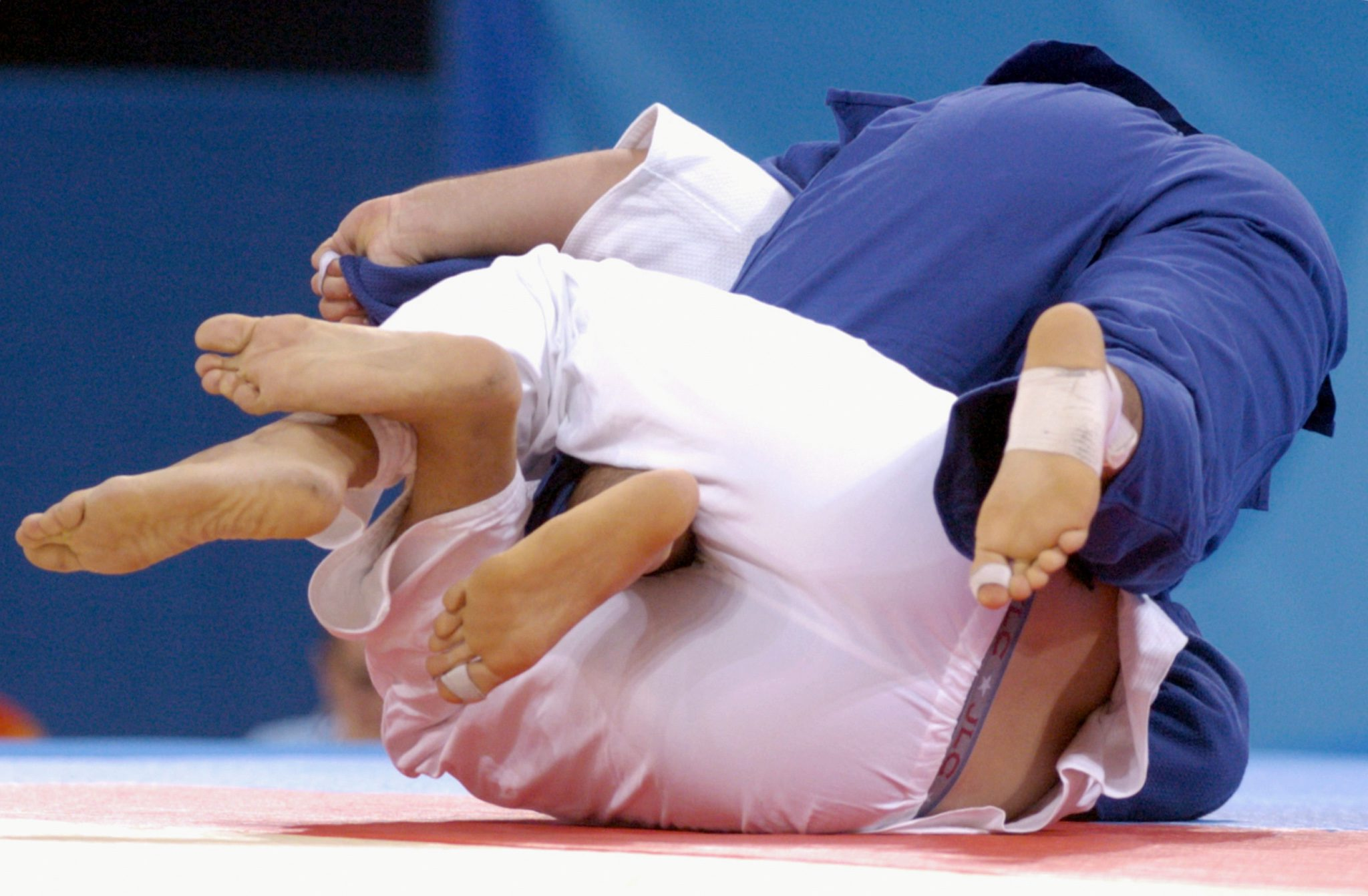 Joana Diogo e Sérgio Oleinic eliminados à primeira no World Masters de judo