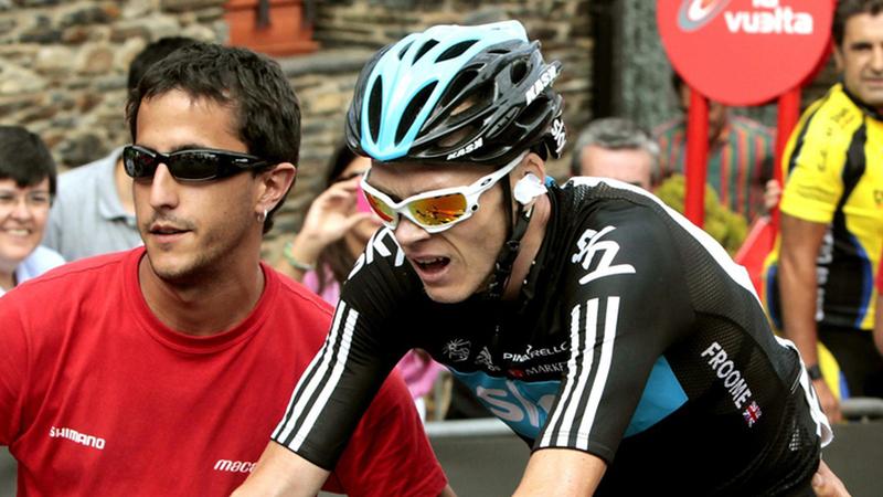 """Froome e os empurrões no Tour: """"É responsabilidade da organização proteger os ciclistas"""""""