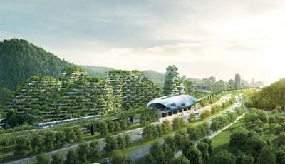 Na China está a nascer a primeira cidade floresta do mundo