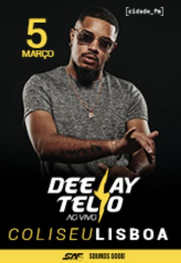 Deejay Telio | Ao vivo no Coliseu dos Recreios