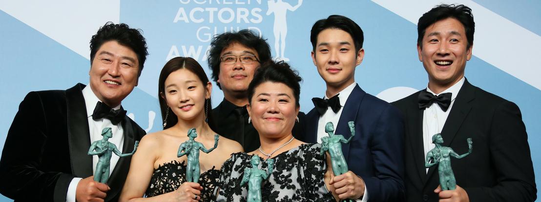 """""""Parasitas"""": filme da Coreia do Sul faz história nos prémios dos atores americanos e baralha corrida aos Óscares"""