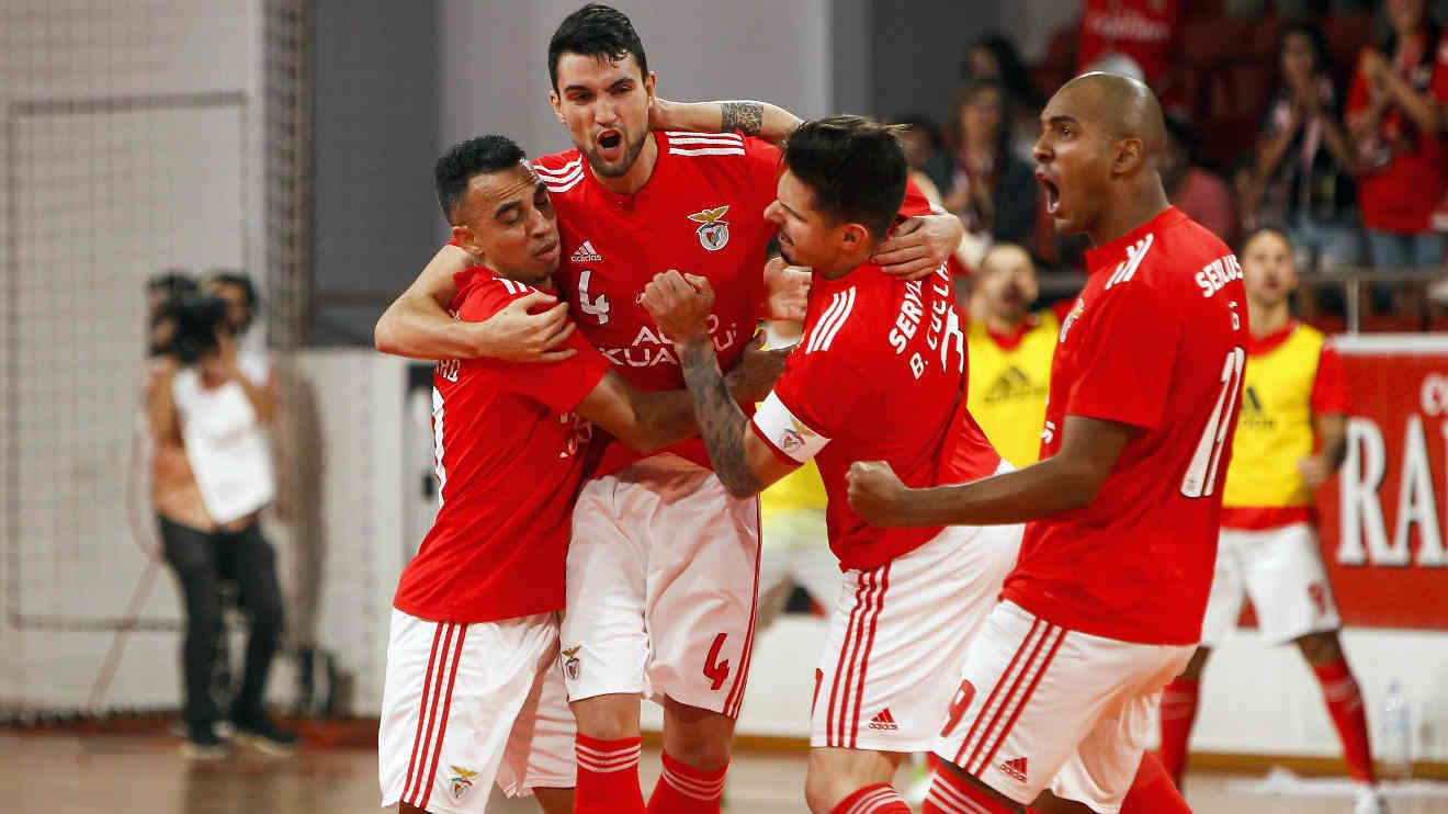 Benfica apresenta candidatura à organização da ronda de Elite de futsal