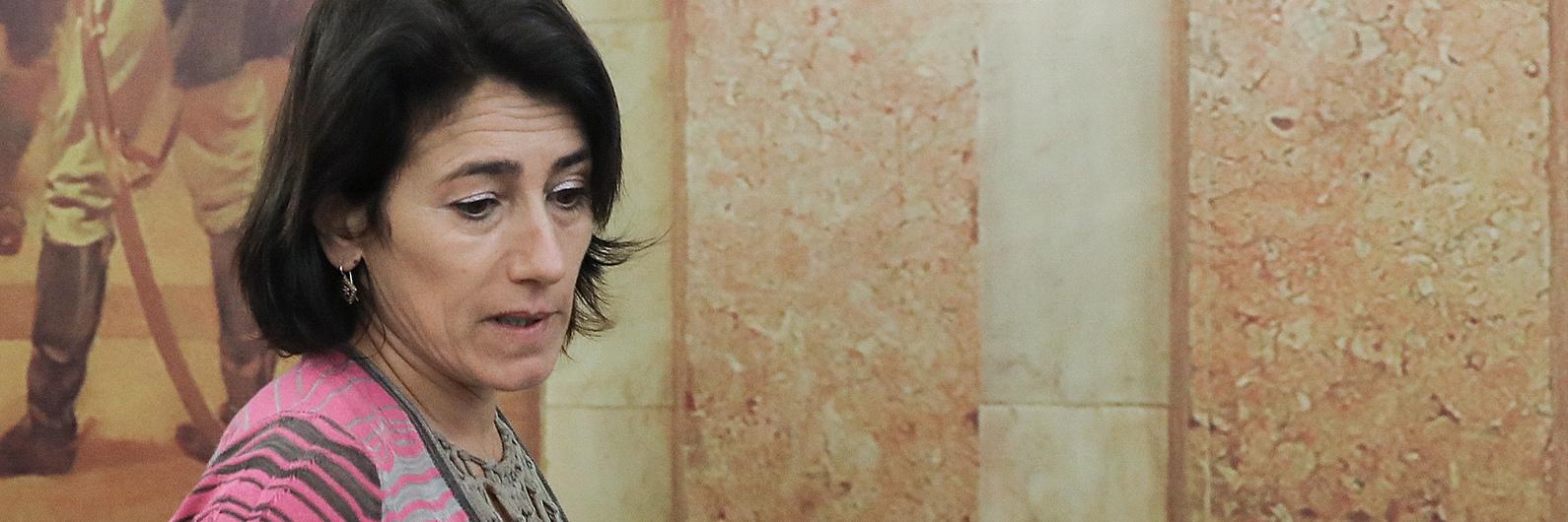 """""""Foi o momento mais difícil minha vida"""", disse Constança Urbano de Sousa"""