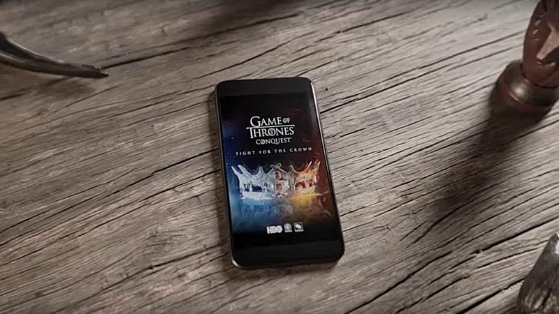 Enquanto espera pela nova temporada pode jogar a Guerra dos Tronos no smartphone