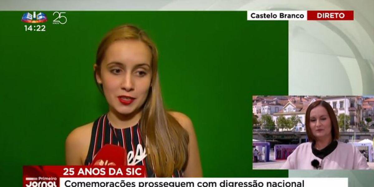 """""""Primeiro Jornal"""": Filha de jornalista da SIC surpreende mãe em direto"""