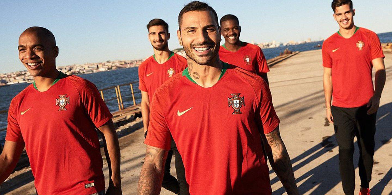 Oficial: Aí estão os equipamentos que Portugal vai usar no Mundial