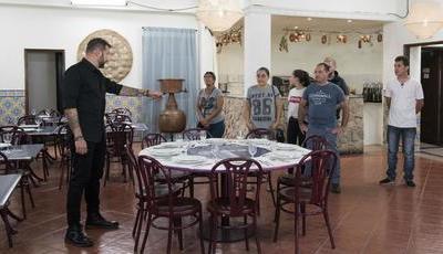 """""""Pesadelo na Cozinha"""": ao contrário do habitual, donos de restaurante gostaram da vista de Ljubomir"""