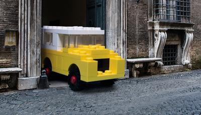 LEGO invade a vida real