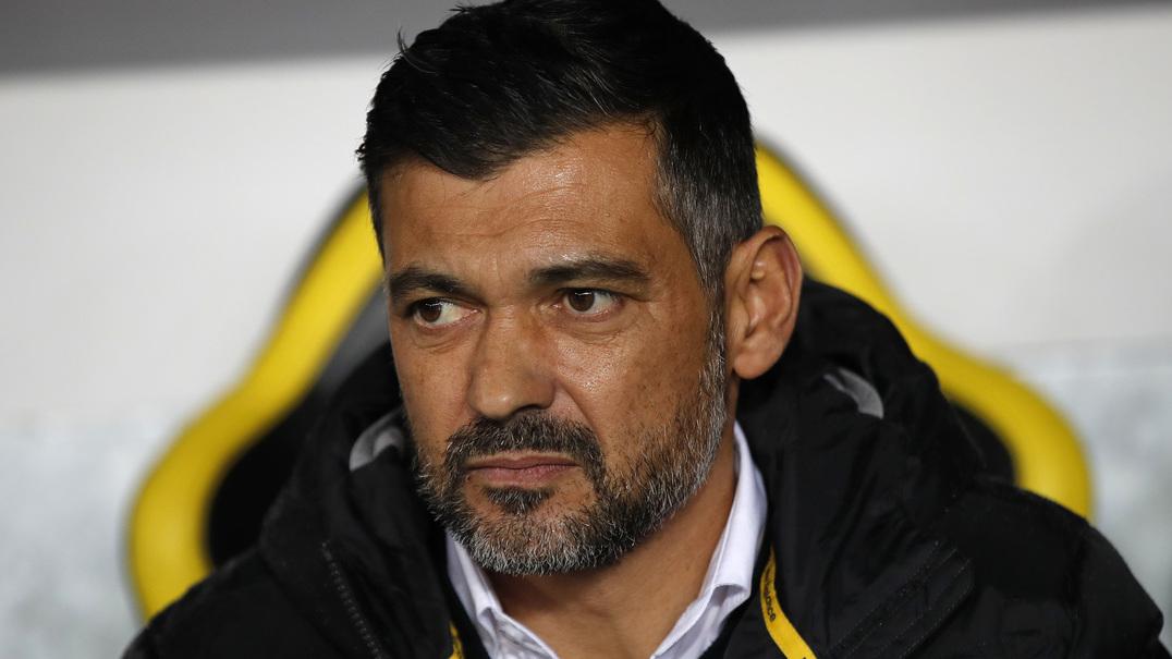 """Sérgio Conceição: """"Estou extremamente confiante no que vamos fazer no jogo"""""""