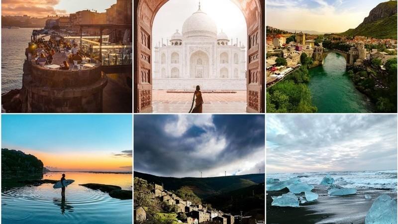 Viagens de Instagram: palácios encantados, aldeias perdidas e diamantes de gelo