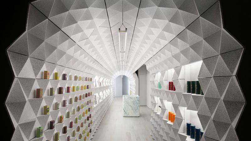 É portuguesa e foi considerada uma das lojas mais bonitas do mundo. Esta é a Claus Porto de Nova Iorque