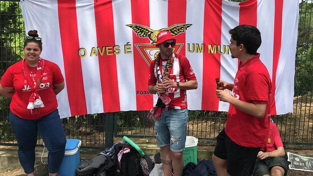 Continua a festa do Desportivo das Aves, agora em Santo Tirso