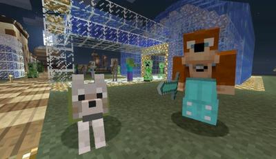 """Conheça uma versão mais """"fofinha"""" do mundo Minecraft"""