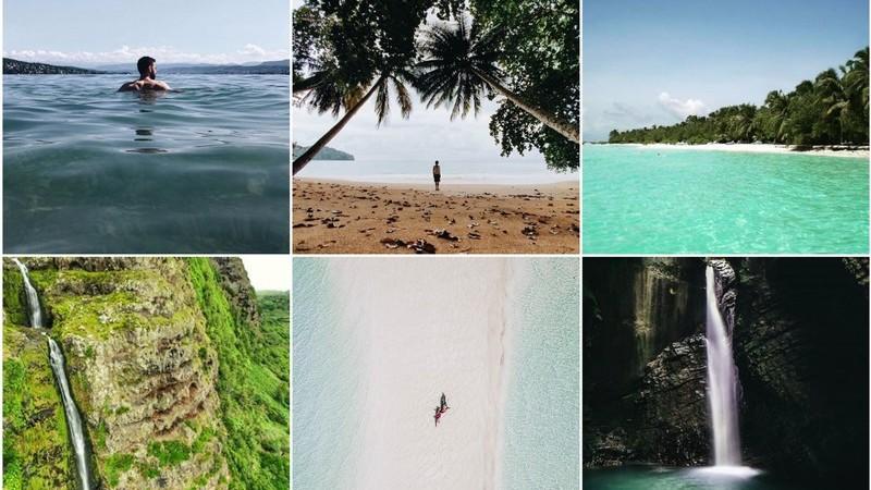 Viagens de Instagram: a vida fica mais leve em tons de azul e verde