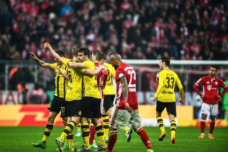 Dortmund elimina Bayern e está na final da Taça da Alemanha