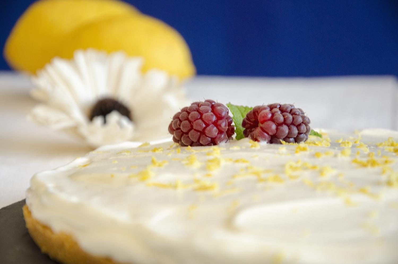 tarte de limão e natas