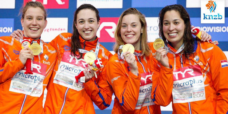 Natação: Holanda bate recorde do mundo da estafeta feminina de 4x50 metros livres