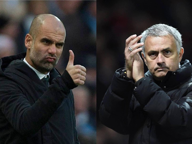 Guardiola vs. Mourinho. Decisões táticas difíceis de tomar