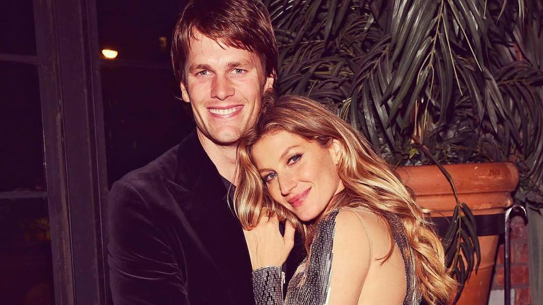 Gisele Bündchen e Tom Brady divertem-se em família no deserto