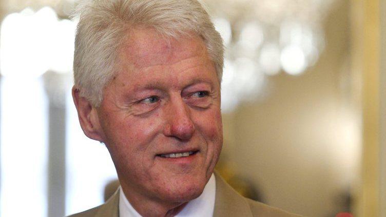 Cavaco Silva meets Bill Clinton