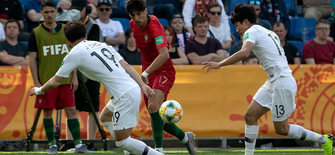 Portugal estreia-se no Mundial de sub-20 com triunfo sobre Coreia do Sul