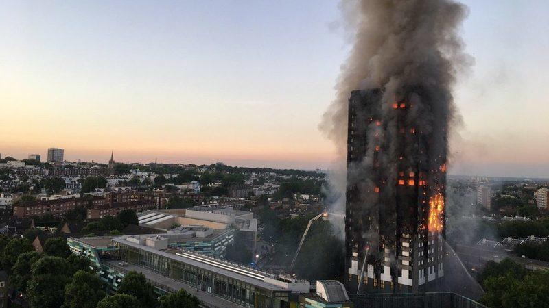 Incêndio na torre em Londres encarece seguros
